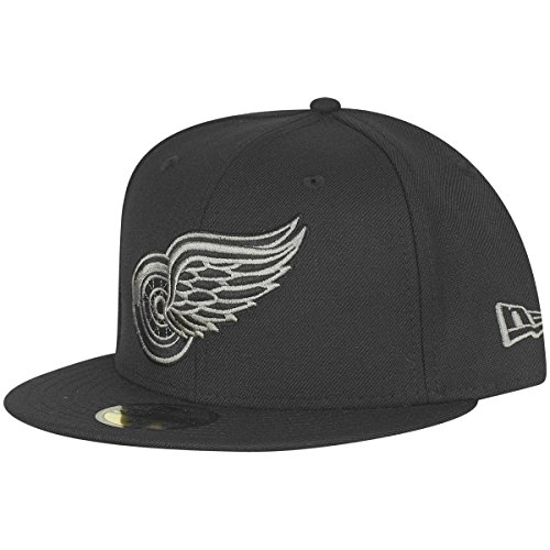 New Era 59Fifty Fitted Cap - NHL Detroit Red Wings black