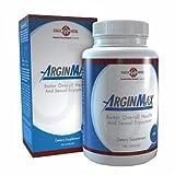 ArginMax für Männer - 180 Kapseln I Zur Steigerung der Leistungsfähigkeit und des Sexuellen Verlangens | Erhöht die männliche Potenz | Gegen Potenzprobleme und Erektionsstörungen | Potenzmittel