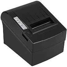 Nuovo Stampante Termica Portabile 300mm/sec 80mm Stampa Scontrino Ricevuta AUTO-CUT ESC/POS Thermal Dot Receipt Printer Compatibile a Windows2000/XP/7/VISTA/8/Linux