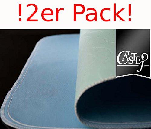Fiducia Inkontinenzunterlage grün-blau o. blau-weiß 90x75cm von Castejo waschbar Auflage Krankenunterlage Matratzenschutz CA3302/C (2)