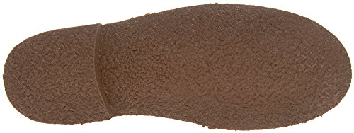 Roamers–Roamers Unisexe en cuir en daim à lacets Fashion Cheville Désert Bottes Sand Real Suede