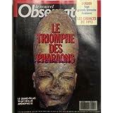 NOUVEL OBSERVATEUR (LE) [No 1472] du 21/01/1993 - SEPT GRANDS TEMOINS EVALUENT - LES CHANCES DE 1993. LE TRIOMPHE DES PHARAONS. LE GRAND-PALAIS VA ACCUEILLLIR AMENOPHIS III.