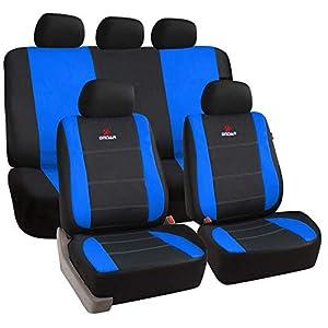 Farbe Smart.1s/_N.Gs Schwarz und Dunkelgrau Lupex Shop Auto-Sitzbez/üge