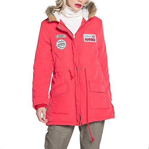 TWBB Damen Mäntel,Winter Warme Cotton Kapuzenpullover Mantel Jacken Parka Strickjacke Dicker Outwear Mit Kapuze Winterjacke