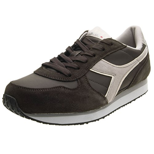 Diadora Malone S, Sneakers Basses Homme C7048 MARRONE