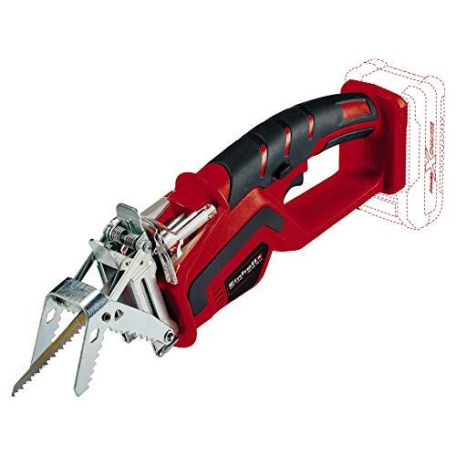 Einhell 3408220 Sierra sable podadora, Negro, Rojo No incluye bateria y cargador