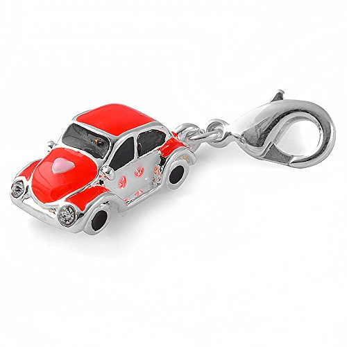 Charms Anhänger für Bettelarmband Auto Käfer von Collangé Jewelry® WR0815