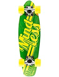 Stateside Longboard Mindless Daily Stained Green and Yellow by Mindless Longboards