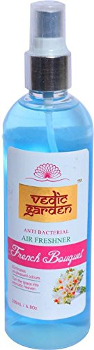 Vedic Garden French Bouquet Home Liquid Air Freshener (200 ml, Spray Dispense Action)