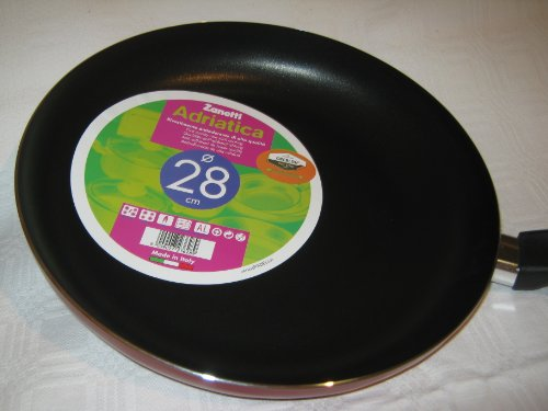 Frying Pan, from 18 cm to 32 cm, [Limited Offer Price], Made in Italy, First Quality Non Stick Coating Pans (28 cm)