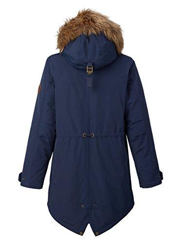 Burton Saxton Parka, Giacca da Snowboard Donna blu (Mood Indigo)