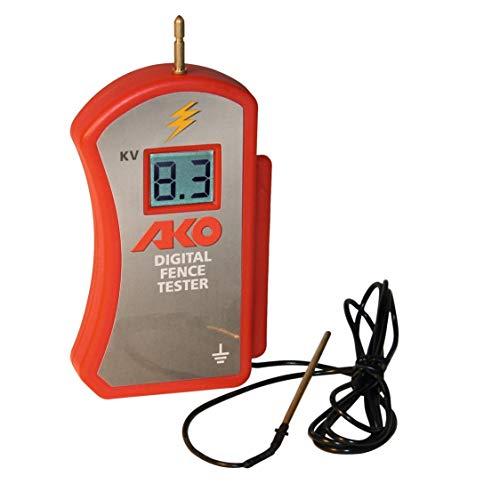 Kerbl AKO Digitalvoltmeter 0-9900V inkl. 9V Blockbatterie