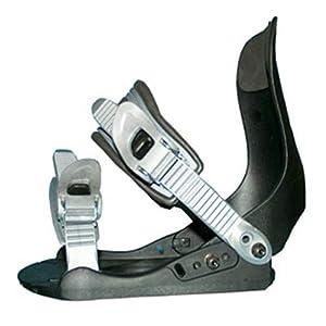 Snowboard Bindung Factory FB 12 schwarz/grau für Schugrösse 38 bis 45