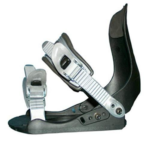Snowboard Bindung Factory FB 12 schwarz/grau für Schugrösse 38 bis 45 -