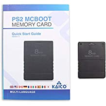 Kaico Free Mcboot 8MB PS2 Memory Card Running FMCB PS2 Mcboot 1.966 for Sony Playstation 2 - FMCB Free Mcboot Your PS2 - Plug and Play - Playstation 2 CFW McBoot 1.966