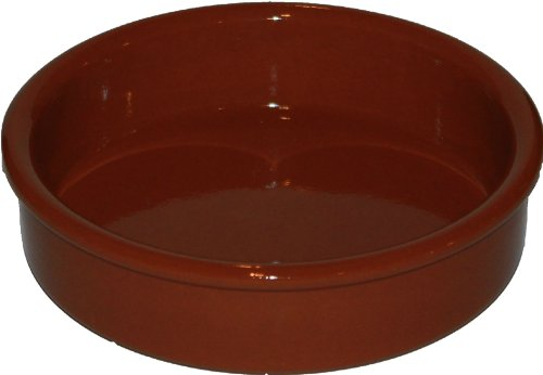 Amazing Cookware Natural Terracotta 15cm Round Dish