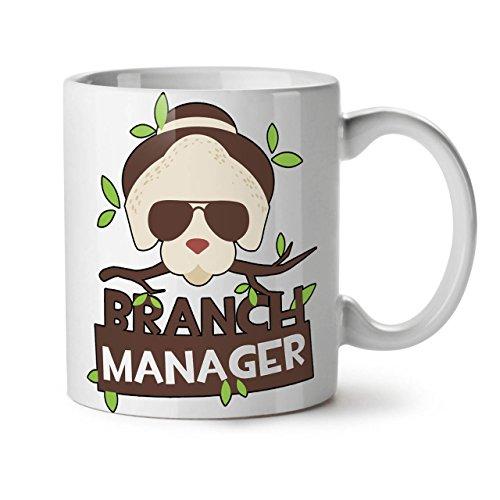 Wellcoda AST Manager Scherz Komisch Keramiktasse, Wild - 11 oz Tasse - Großer, Easy-Grip-Griff, Zwei-seitiger Druck, Ideal für Kaffee- und Teetrinker