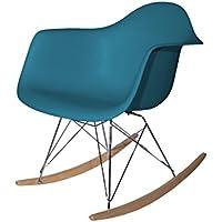 Aryana Home ARYABA013-Chaise à Bascule Réplique Eames 62,5x69x79,5 Turquesa  océano dd430f2b5446