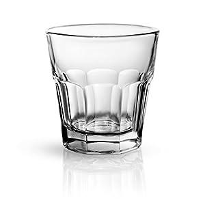 Sixby Whisky - Wasser - Saft Gläser Collection (Marocco 23cl, 24 Stück)