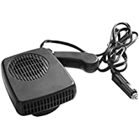 Calentador de aire auto del auto portátil Calentador eléctrico Ventilador Demist y descongelamiento Soplador de aire