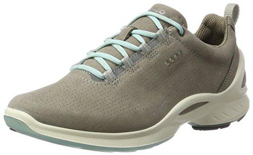 ECCO Biom Fjuel, Scarpe Sportive Outdoor Donna, Grigio (Warm Grey), 40 EU Grigio (Warm Grey)
