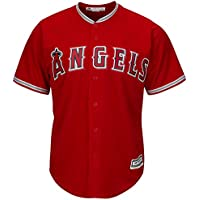Majestic los angeles angels maillot alternatif mLB cool base (rouge)