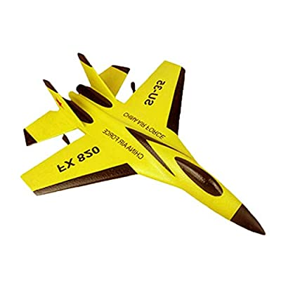 JIANGfu Remote Control RC Helicopter Plane Glider Airplane Toys 2CH 2.4G
