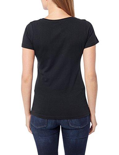 Berydale Damen T-Shirt für Sport & Freizeit, Rundhalsausschnitt, 3er Pack Schwarz (Schwarz)