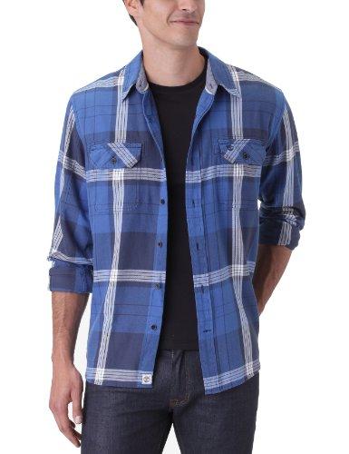 Timberland Herren Business Hemden Blau - Bleu (Dark Navy)