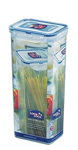 Lock & Lock HPL 819 Boîte spécifique à spaghettis 2 L Etanche à 100% air et liquide