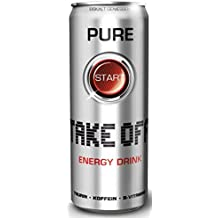 Take Off Energy Drink - Pure, 24er Pack (24 x 330ml)