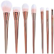 Set de Brochas de maquillaje Sannysis Brochas para maquillaje facial, Ceja y Delineador de ojos