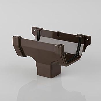 Brett Martin External Stopend For 114mm Squarestyle Gutter System White Br057w