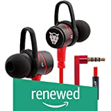 (Renewed) Ant Audio W56 Wired Metal in Ear Stereo Bass Headphone (Red)