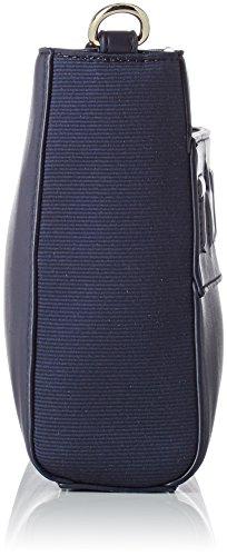 Tommy Hilfiger Logo Story Crossover, Borsa a Tracolla Donna, 6.5 x 18 x 22 cm (W x H x L) Blu (Tommy Navy)