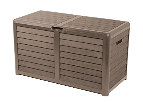 EDA Plastiques Malle BAYA taupe - 117,3 x 54,8 x 65,3 cm - 420 L