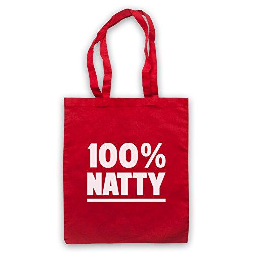 100% Natty Gym Slogan Mantellina Con Tasche Rosse