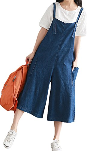 YAN Damen Jumpsuit Gr. Medium, blau