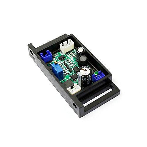 q-baihe 405nm 50–200mW violett/blau Laser Modul Netzteil Treiber 12V mit TTL (Laser Diode Blau)