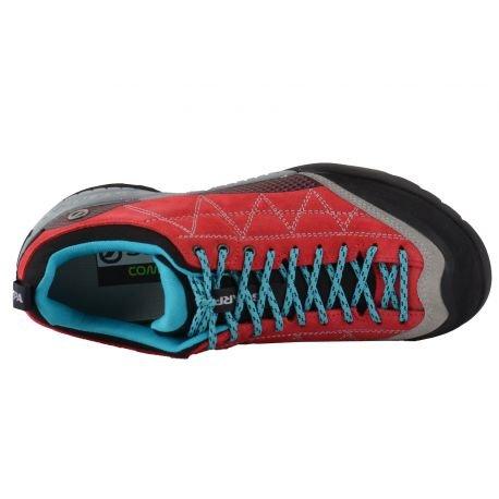Scarpa Schuhe Zen Pro Women Tomato / Cyan Blue