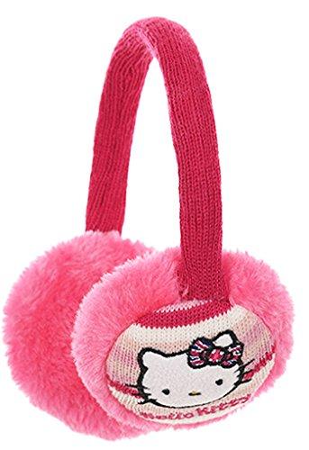 Hello kitty Mädchen Ohrenschützer rosa Rose -