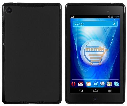 mumbi Hülle kompatibel mit Google Nexus 7 FHD(2013), schwarz
