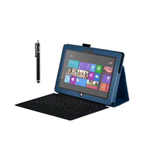 zeadio® Premium Luxus Schutzhülle mit Aufsteller für Microsoft Surface RT Tablet
