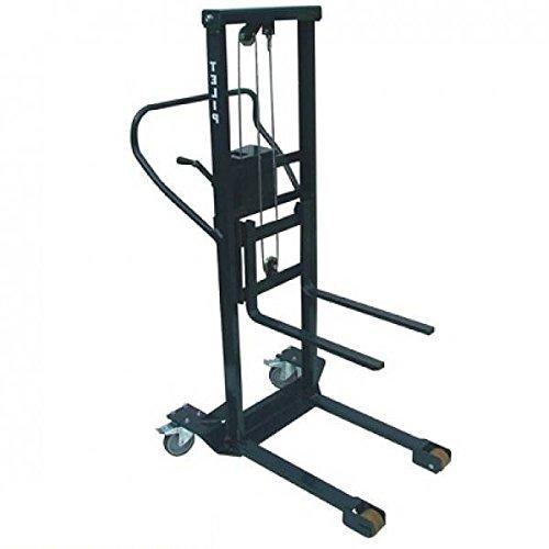 telip 0001630Stacker manuell, schwarz, Kapazität 250kgs - Schwarz Stacker