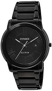 Citizen Herren-Armbanduhr Analog Quarz Edelstahl AW1215-54E