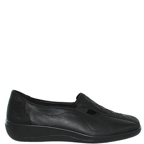Hotter Donna Calypso Loafer Black