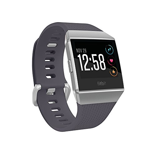 Fitbit Ionic FB503WTGY Smartwatch (Blue and Grey/White)