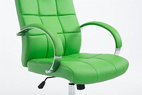 Sedie Da Ufficio Con Braccioli Senza Ruote : Clp sedia da direttore mikos sedia da ufficio in similpelle
