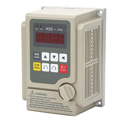 Frequenzumrichter Wechselrichter, einphasiger Eingang/dreiphasiger Ausgang 220 V Frequenzumrichter für 0,75 kW-Motoren