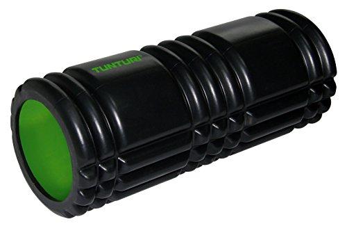 Tunturi Yoga Grid Foam Roller 33cm Black Schaumrolle, schwarz, one Size